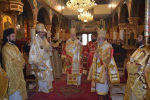 Ο Μητροπολίτης Προύσσης Ελπιδοφόρος τιμήθηκε από την Ιερά Μητρόπολη Ελευθερουπόλεως