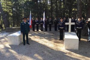 Οι Ρώσοι τίμησαν την Βασίλισσα Όλγα, στο κοιμητήριο Τατοΐου