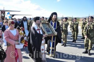 Στη Χίο με τιμές αρχηγού κράτους, η εικόνα της Παναγίας Σουμελά