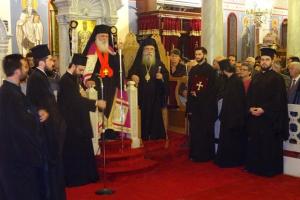 Η ανώτατη τιμή της Μητρόπολης Σπάρτης στον Αρχιεπίσκοπο Ιερώνυμο