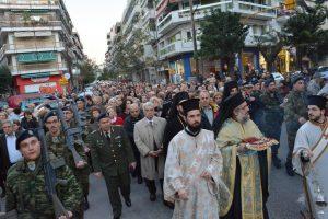 Η Θεσσαλονίκη υποδέχθηκε τη θαυματουργή Εσθήτα της Παναγίας
