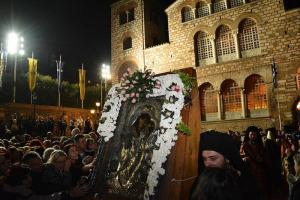 Η Θεσσαλονίκη αποχαιρέτησε την Παναγία «Επισκέψεως»