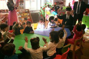 Ο Πατριάρχης στους νεαρούς βλαστούς της Ρωμιοσύνης