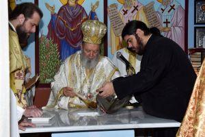 Εγκαίνια νέου Παρεκκλησίου από τον Μητροπολίτη Χαλκίδος