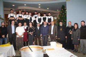 Φιλανθρωπικό δείπνο Αγιορείτικης κουζίνας με τον π. Επιφάνιο