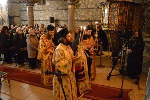 Αρχιερατική αγρυπνία στον Ιστορικό Μητροπολιτικό ναό της Έδεσσας