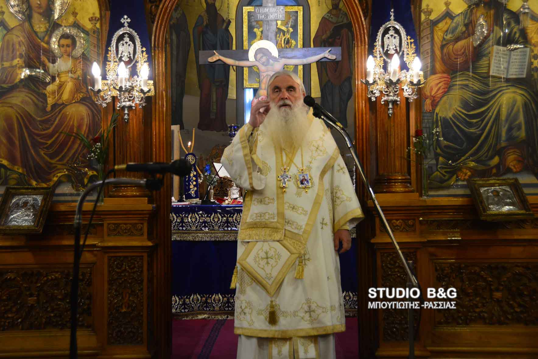 Χριστούγεννα στον Άγιο Πέτρο Άργους