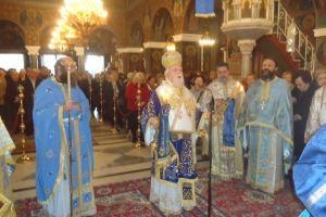 Πλήθη πιστών στον Αγ. Νικόλαο οδού Αχαρνών