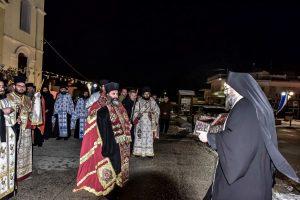 Υποδοχή του Ιερού Λειψάνου και Ενθρόνιση του Νέου Ηγουμένουστην Ι.Μ. Λαγκαδά