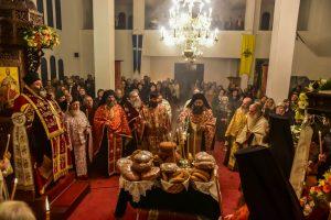 Ιερά Αγρυπνία επί τηΕορτή του Οσίου Πατρός ημών Πορφυρίου του Καυσοκαλυβίτου