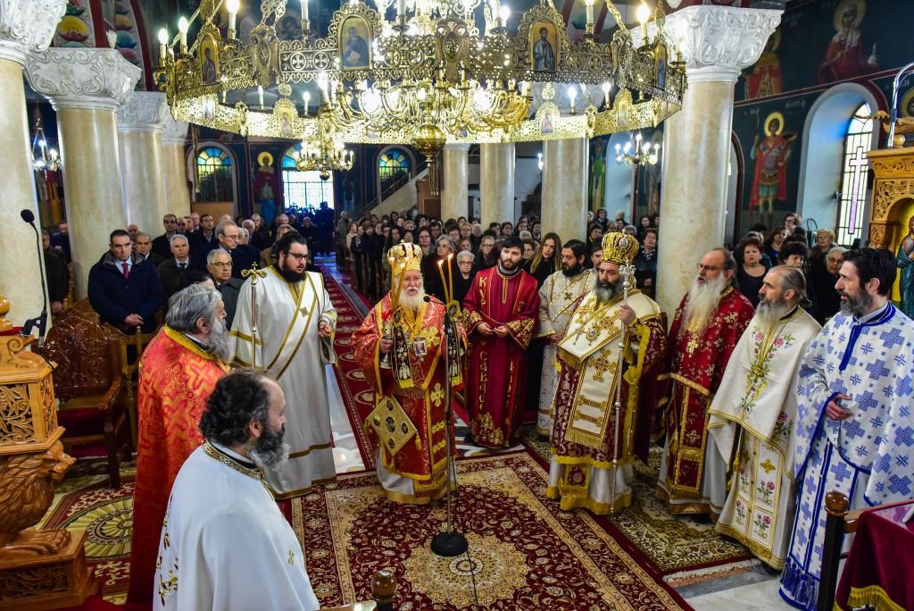 Αρχιερατικό Συλλείτουργο εις τον Ιερό Ναό της Κοιμήσεως της Θεοτόκου Δρυμού