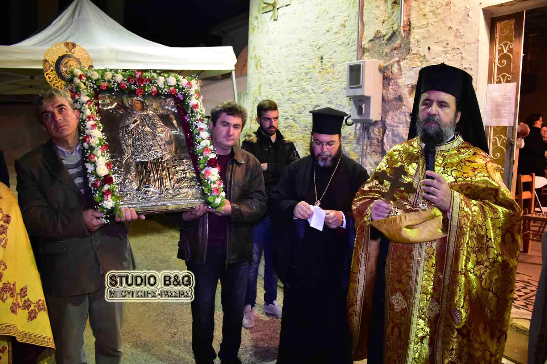 Την Μεγαλομάρτυρα Αγία Βαρβάρα γιόρτασαν στον Ίναχο Αργολίδος