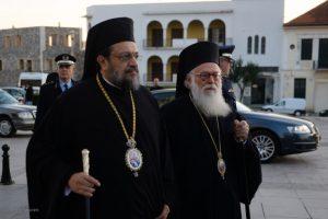 Συγκινητική η υποδοχή του Αρχιεπίσκοπου Αλβανίας στην Καλαμάτα