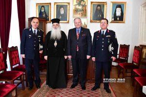 Εθιμοτυπική επίσκεψη του Αρχηγού της Ελληνικής Αστυνομίας στο Ναύπλιο