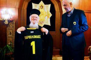 Βαρθολομαίος: «Η ΑΕΚ είναι σαρξ εκ της σαρκός μας»