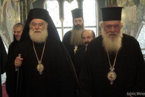 Επίσκεψη του Πατριάρχη Αλεξανδρείας στον Αρχιεπίσκοπο Αθηνών