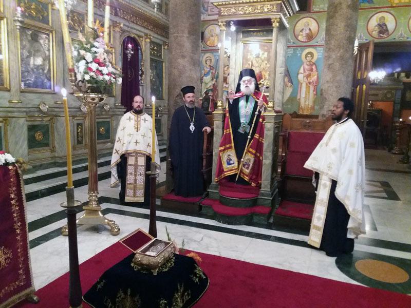 Η εορτή του Πατριαρχικού Ιερού Ναού Οσίου Σάββα του Ηγιασμένου Αλεξανδρείας