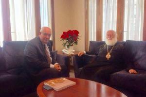 Στον ΥΦΥΠΕΞ Τέρενς Κουίκ ο ο Πατριάρχης Αλεξανδρείας Θεόδωρος