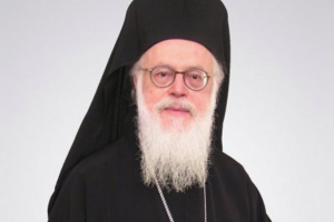 Αρχιεπίσκοπος Αλβανίας στην Ι. Μητρόπολη Μεσσηνίας