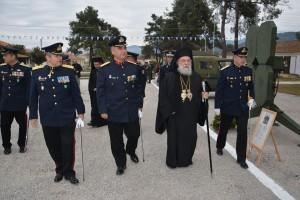 Η εορτή του Πυροβολικού στο στρατόπεδο Λοχαγού «ΑΜΒΡΑΖΗ» Ελευθερούπολης