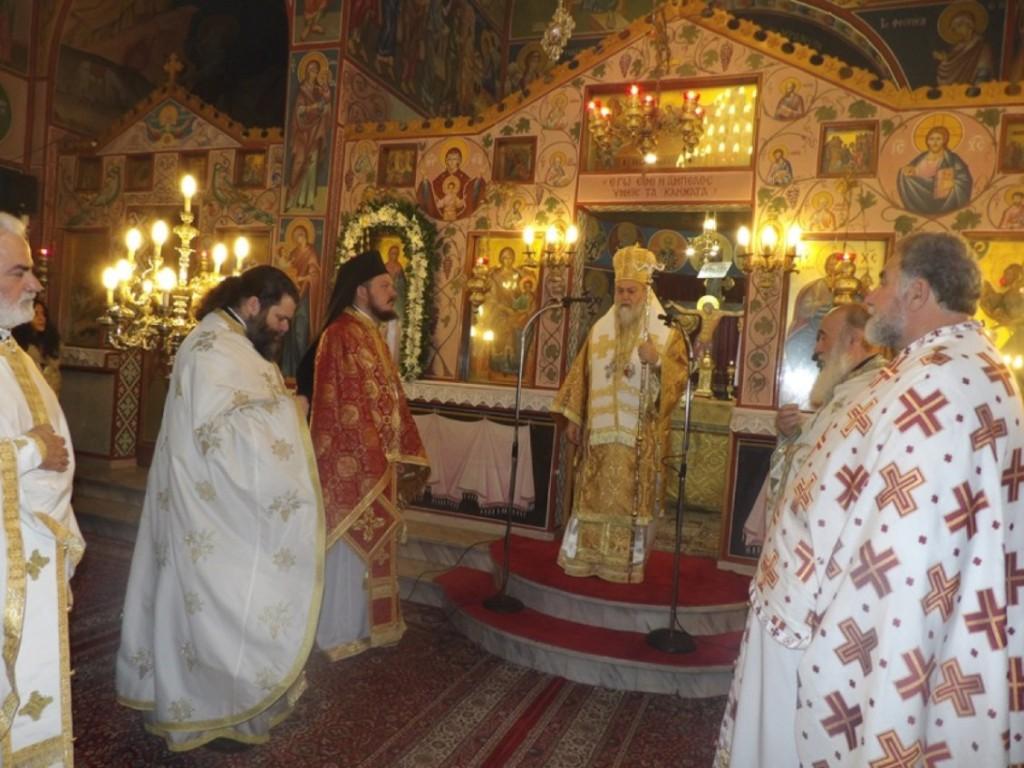 Η εορτή της αγίας Αναστασίας στην μητρόπολη Κορίνθου