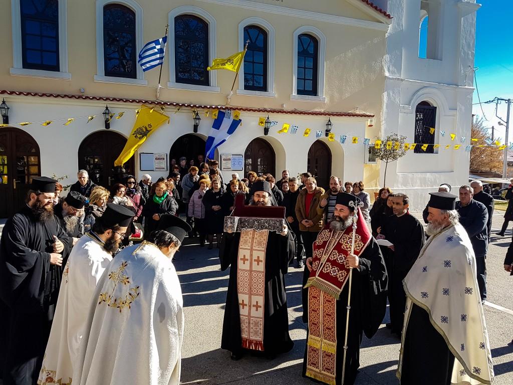 You are currently viewing Αναχώρηση του Ιερού Λειψάνου του Αγίου Χαραλάμπους