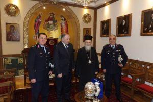 Στον μητροπολίτη Κορίνθου ο Αρχηγός της Ελληνικής Αστυνομίας