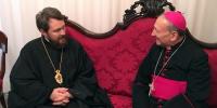Η εκκλησιαστική διπλωματία εν δράσει.. Μετά τον Οικουμενικό Πατριάρχη ο Ιλαρίων στο Μπάρι