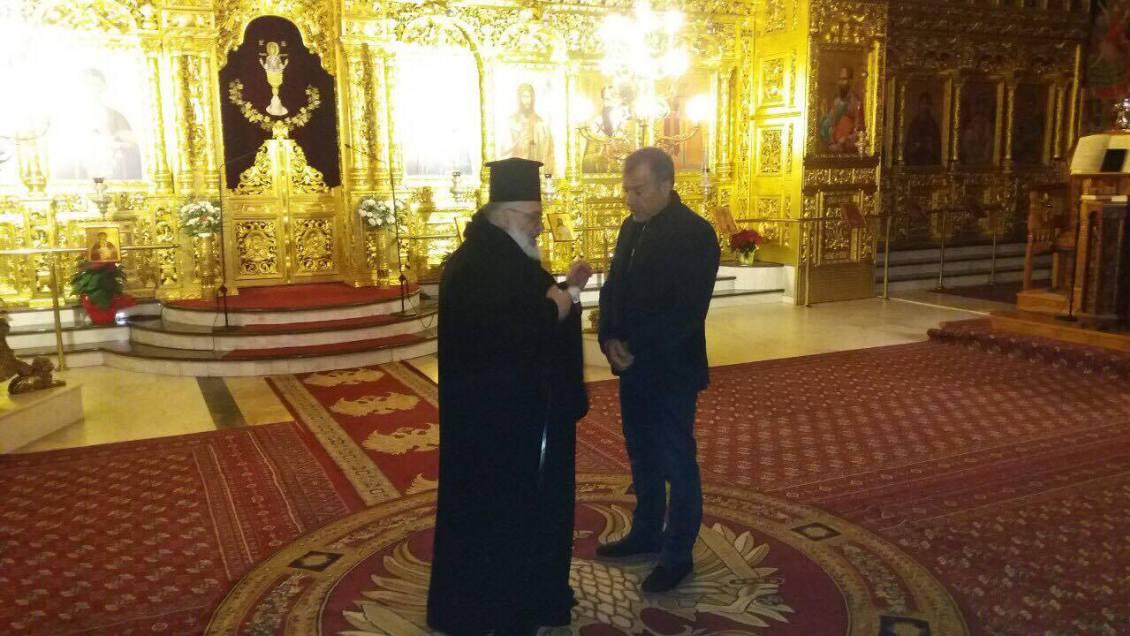 Με τον Μητροπολίτη Διδυμοτείχου συναντήθηκε ο Στ. Θεοδωράκης