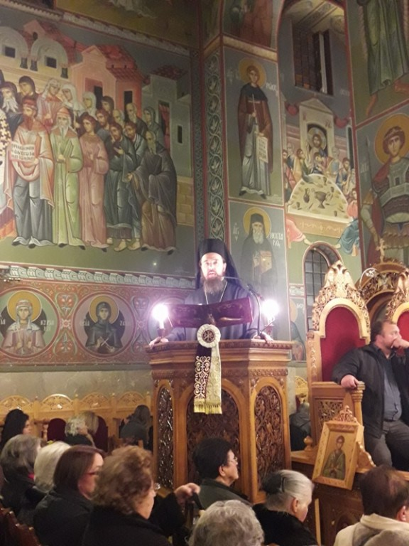 You are currently viewing Ομιλία του Πανοσιολογ. Αρχιμ.Δαμασκηνού Κιαμέτη, Πρωτοσυγκέλλου της ΙΜΔ, στον Εσπερινό των Χριστουγέννων 2016