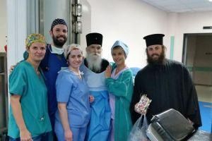 Ποιμαντική επίσκεψη του Μητροπολίτου Γλυφάδας Παύλου στους ασθενείς του Γενικού Νοσοκομείου Ασκληπιείο Βούλας