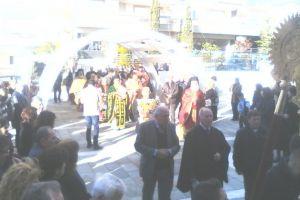 Η Εορτή της Συνάξεως της Θεοτόκου στην Μητρόπολη Ιλίου