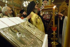 Ο Εσπερινός του Αγίου Σεραφείμ στην Καστοριά