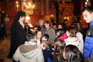 Ο Κεφαλληνίας Δημήτριος σε εορταστική εκδηλώση του Κατηχητικού Ληξουρίου