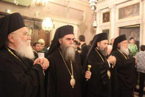 Μέγας Πολυαρχιερατικός Πανηγυρικός Εσπερινός για τον Άγιο Σπυρίδωνα στην Κέρκυρα