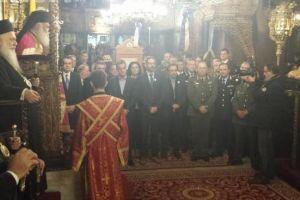 Ο Αρχιεπίσκοπος στην Κοζάνη για τον πολιούχο της Άγιο Νικόλαο