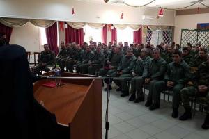 Πνευματική ομιλία του Σεβ.Μητροπολίτη Λαρίσης σε αξιωματικούς της αεροπορίας