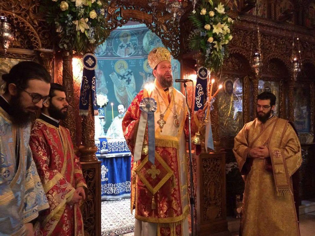 Ο εορτασμός του Αγίου Ελευθερίου στη Μητρόπολη Νέας Ιωνίας