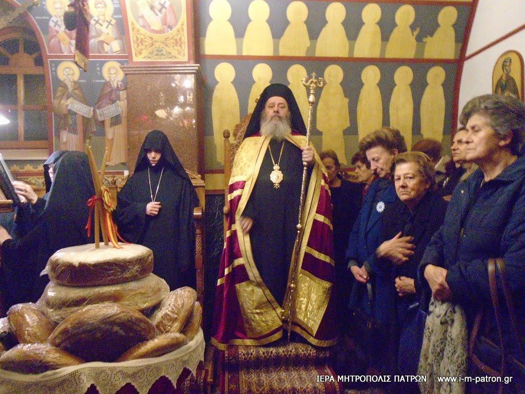 Η Πάτρα τίμησε τη μνήμη του Αγίου Νικολάου