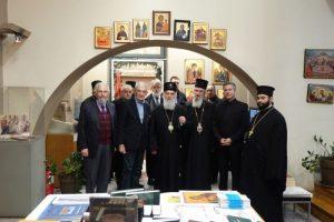 Ο Πατριάρχης Σερβίας στην Αγιορειτική Εστία
