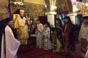 Η μνήμη του αγίου Σπυρίδωνος όπως εορτάστηκε στην μητρόπολη Νέας Ιωνίας
