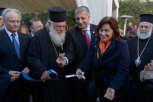 Στέγες Αγάπης και Υποστηριζόμενης Διαβίωσης εγκαινίασε ο Αρχιεπίσκοπος