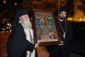 Η Καλαμάτα υποδέχτηκε την Ιερά Εικόνα Ζωοδόχου Πηγής Σγράπας