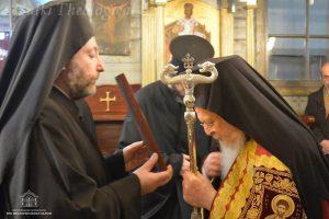 Ο Οικουμενικός Πατριάρχης στον Άγιο Σπυρίδωνα της Χάλκης