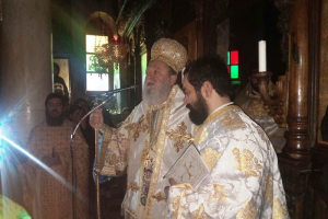 Η εορτή του Αγίου Ανδρέα και Χειροτονία στην Ι.Μ. Χαλκίδος