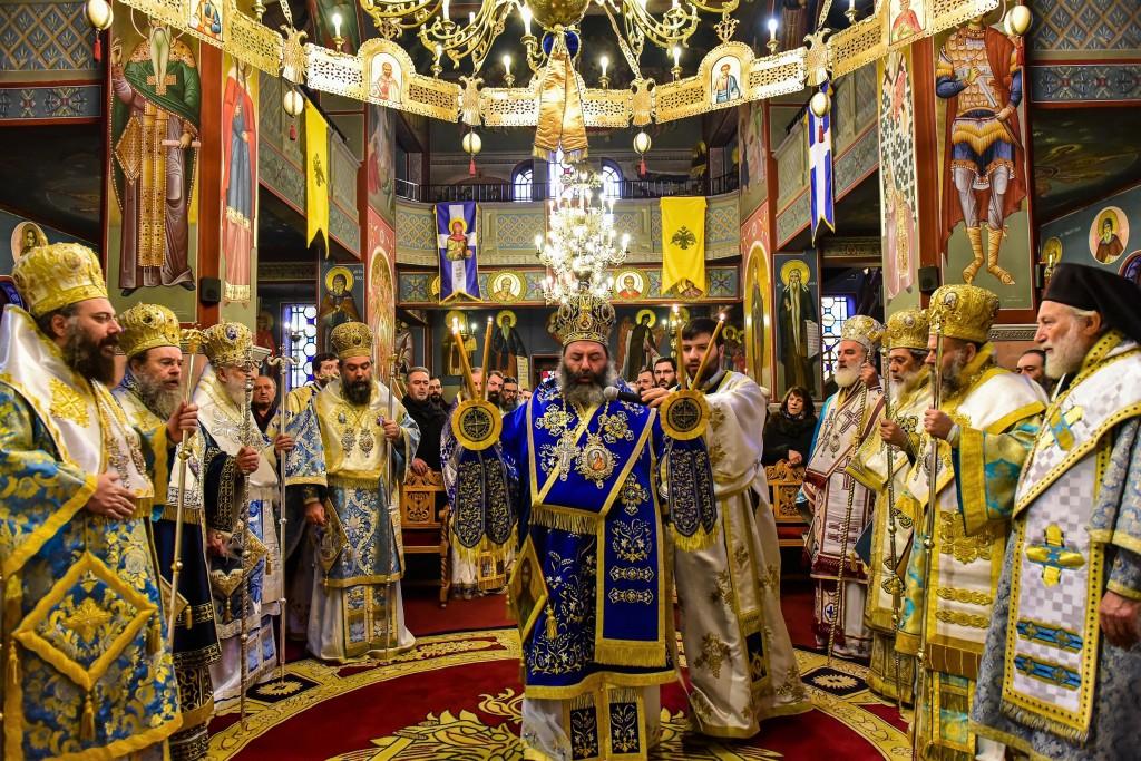 Η Εορτή της Συνάξεως του Τιμίου Πορδρόμου και τα Ονομαστήρια του Σεβασμιωτάτου Μητροπολίτου Λαγκαδά, Λητής και Ρεντίνης κ.κ. ιωάννου