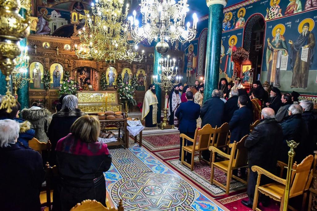 Πανηγυρικός Εσπερινός για την Εορτή της Αγίας Μεγαλομάρτυρος Κυράννης της Οσσαίας στην Ι. Μ. Λαγκαδά