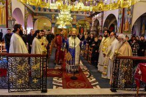 Αρχιερατική Θεία Λειτουργία εις τον Ιερό Ναό των Αγίων Κωνσταντίνου και Ελένης Ασσήρου