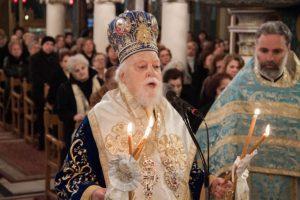 Εορτή των Φωτων στον Αγ. Κωνσταντίνο Κολωνού με τον Κορωνείας