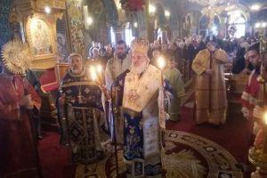 Θεοφάνεια στην Αγία Μαρίνα Ηλιουπόλεως με τον Σεβ. Βρεσθένης Θεόκλητο